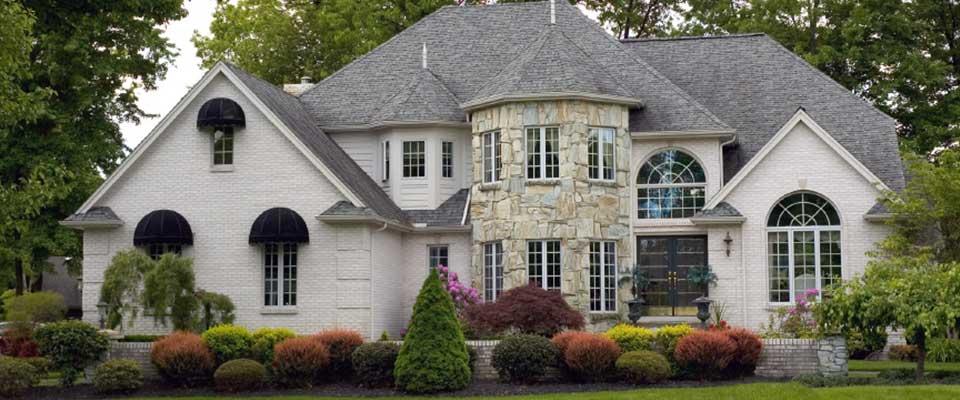 Sprawling mansion